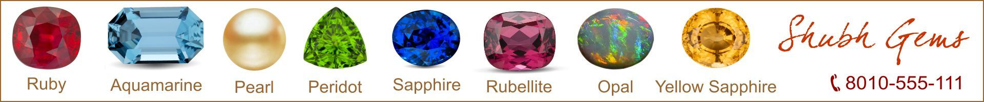 astrological gemstones